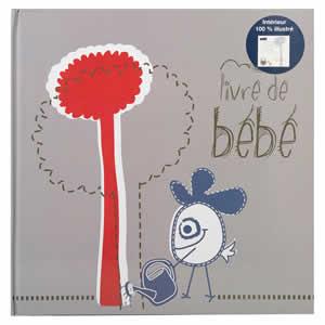 livre de naissance Petit Bonhomme 80 pages bébé
