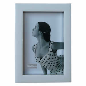 Cadre 10x15 Monnalisa blanc