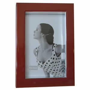 Cadre 10x15 Monnalisa rouge