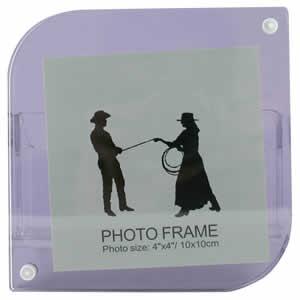Cadre photo à poser sur bureau 13x13