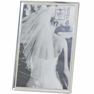 Cadre photo bord miroir 10x15