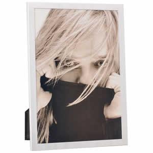 Cadre photo en métal argenté 10x15
