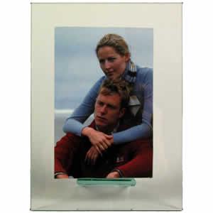 Cadre photo en verre vertical 18x24