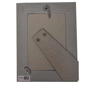Cadre photos 10x15 Points gris clair