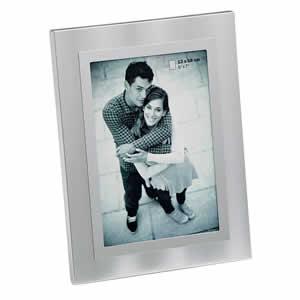Cadre photos 15x20  couleur argent