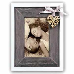 Cadre photos BLAYER 10x15 design en bois