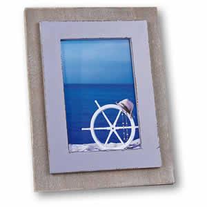 Cadre photos Nice 15x20 en bois couleur lavande