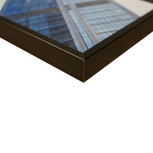 Cadre City Design 30x40cm en Aluminium Noir