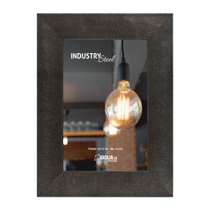 Cadre Industry Steel 10x15 cm acier