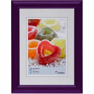 Cadre photo 15x20 violet classique Trendstyle
