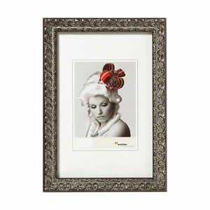 Cadre photo 20x30 bois baroque silver walther - Cadre photo 20x30 ...