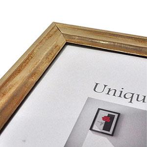 Cadre photo 20x30 bois encadrement doré