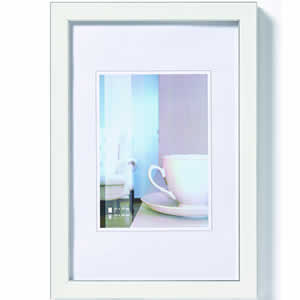 Cadre photo Ambience blanc 10x15 cm