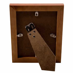 Cadre photo bois marron 18x24 cm NATURA