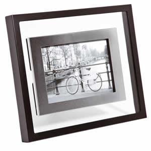 Cadre photos 13x18 erwan 1 en acier inox