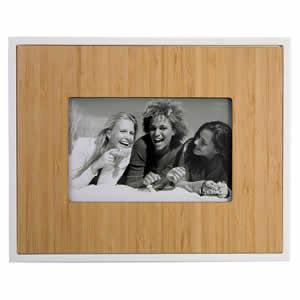 Cadre TECK en bois pour photo 10x15