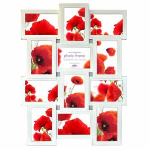 Cadre multivues 12 photos 10x15cm deco