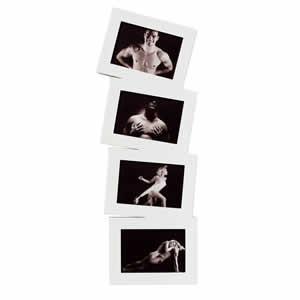 Cadre multivues laqué blanc 4 photos 10x15 cm