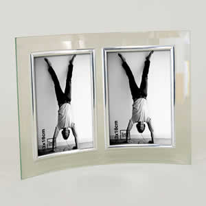 Cadre photo vertical 2 photos 13X18