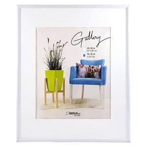 Cadre 40x50 Blanc Gallery