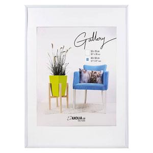 Cadre 50x70 Blanc Gallery
