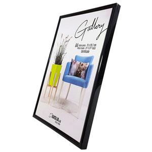 Cadre A4 Noir Gallery 21x29.7