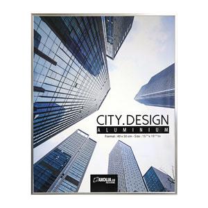 Cadre City Design en Aluminium 40x50 cm