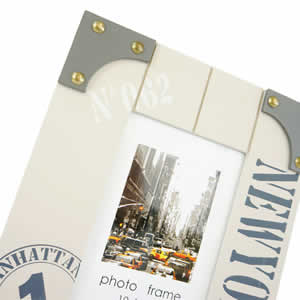 Cadre photo 10x15 beige NEW YORK