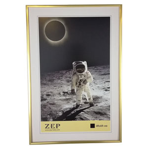 Cadre photo 40x60 doré