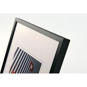 Cadre photo 60x80 cm  noir classique
