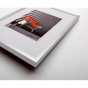 Cadre photo aluminium brossé 30x40 Moderne