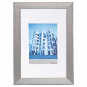 Cadre photo aluminium brossé pour photo 40x50
