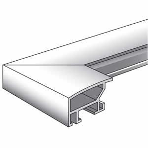 Cadre photo aluminium brossé pour photo 50x70