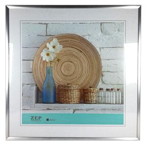 cadre photo argent 40x40 galerie zep. Black Bedroom Furniture Sets. Home Design Ideas