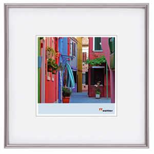 Cadre photo format carré  30x30 alu