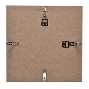 Cadre photo format carré 30x30 noir