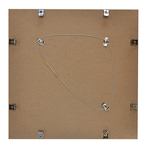 Cadre photo format carré 40x40 alu