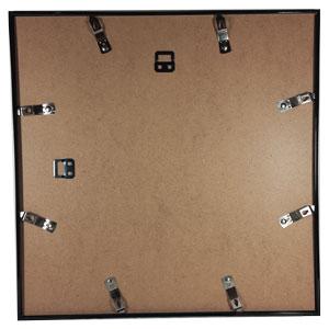 Cadre photo format carré 40x40 noir