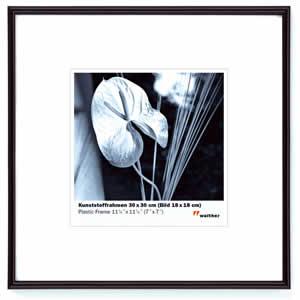 Cadre photo format carré  50x50 noir