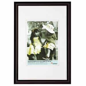 Cadre photo noir 40x50 Trendstyle