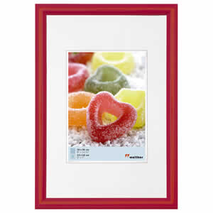 Cadre photo rouge 40x50 Trendstyle