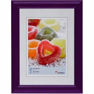 Cadre photo violet 40x50 Trendstyle