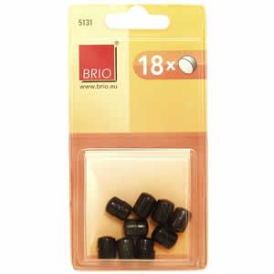 Boite 18 aimants 9mm noir
