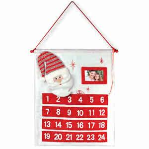 Calendrier de l'Avent Père Noël personnalisable