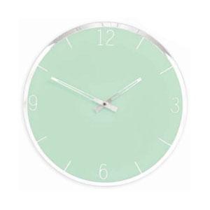 Horloge miroir Murano - verte