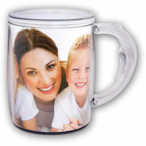 Tasse personnalisable photo 11x25cm