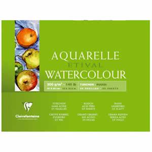 Papier aquarelle Clairefontaine 36x48 10 feuilles