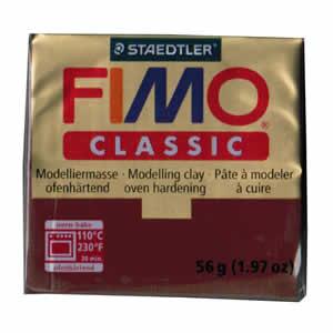 Pâte FIMO classic Couleur  Bordeaux N°23