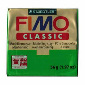Pâte FIMO classic Couleur Vert  N°5