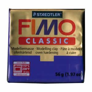 Pâte FIMO classic Couleur Violet N°6